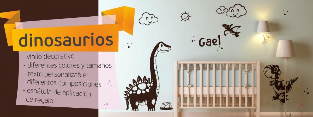 vinilo decorativo dinosaurios infantil