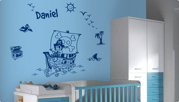 pirata-vinilo-decorativo-azul-habitacion
