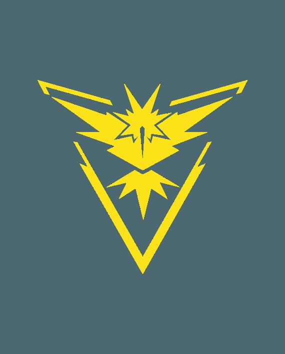 pegatina equipo instinto pokemon go