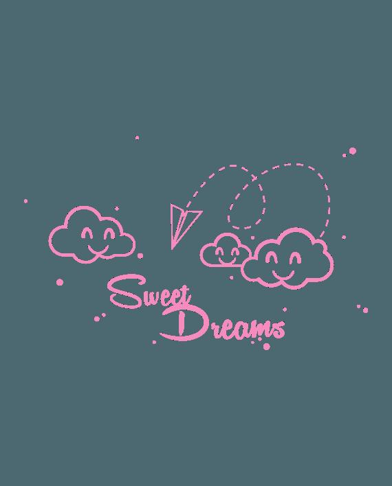 vinilo infantil dulces sueños sweet dreams