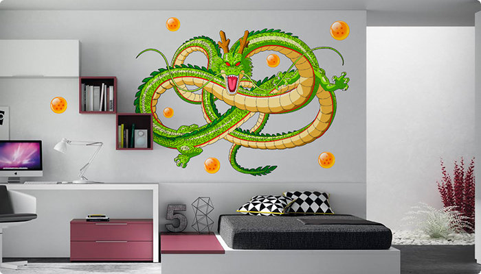 dragon ball vinilo impreso dragon shenron