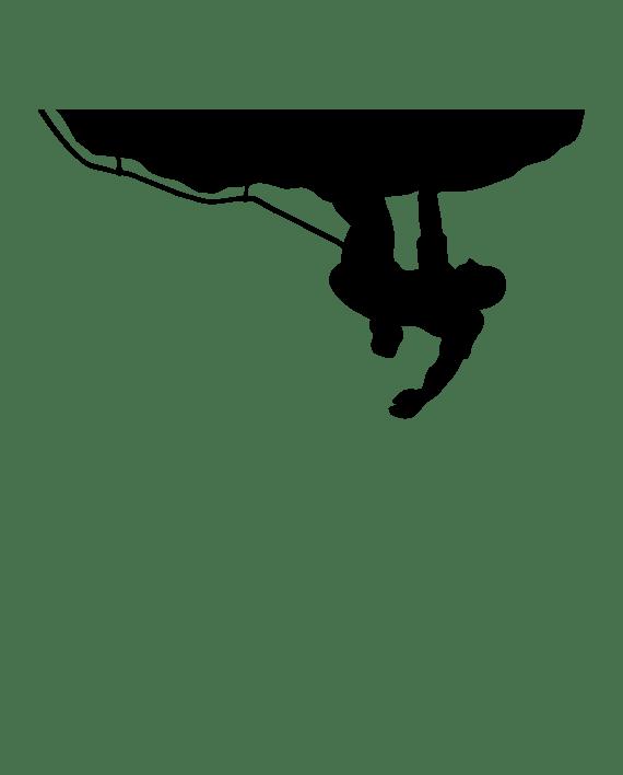 pegatina escalada escalador