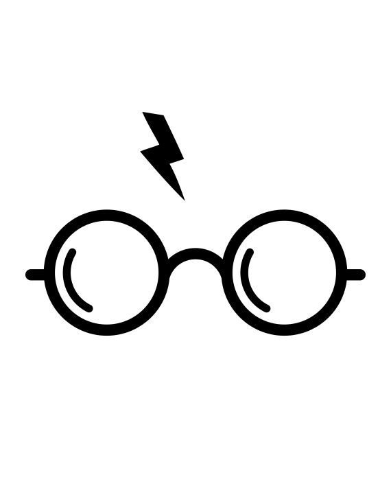 pegatina harry potter
