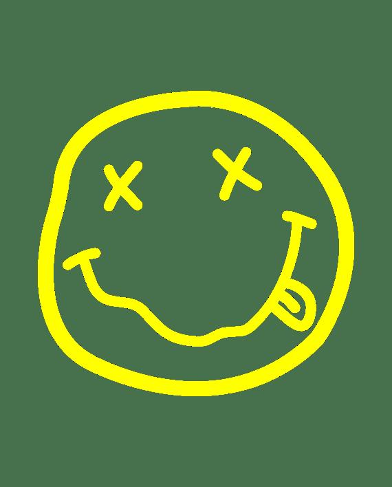 Pegatina Nirvana Smile Adhesivosnatos