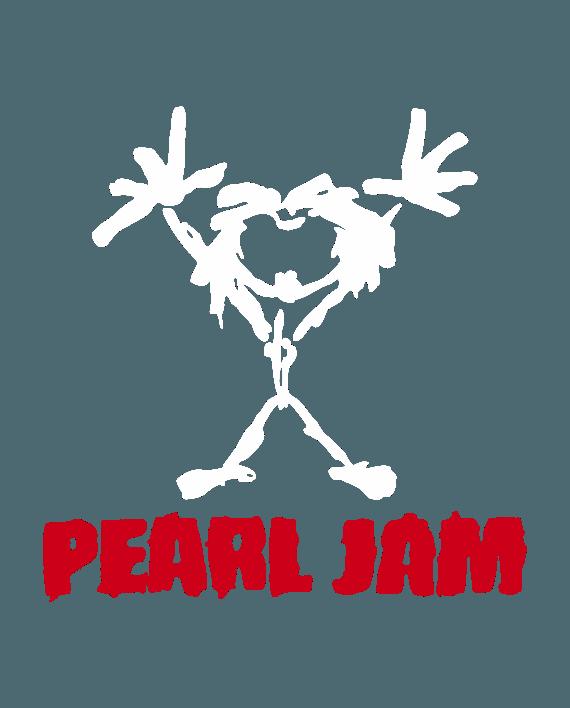 pegatina pearl jam