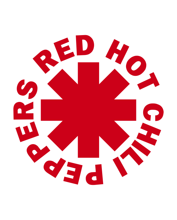 pegatina red hot chili peppers