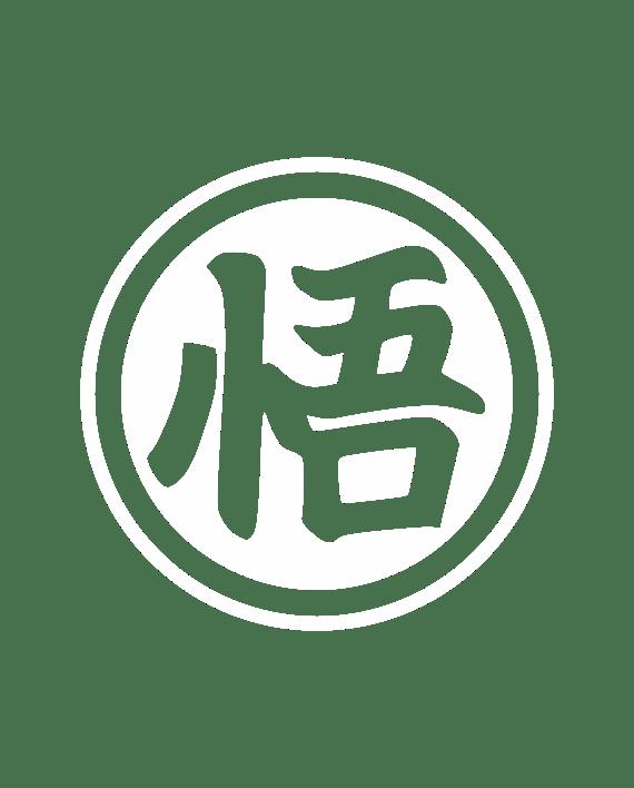 símbolo go goku pegatina
