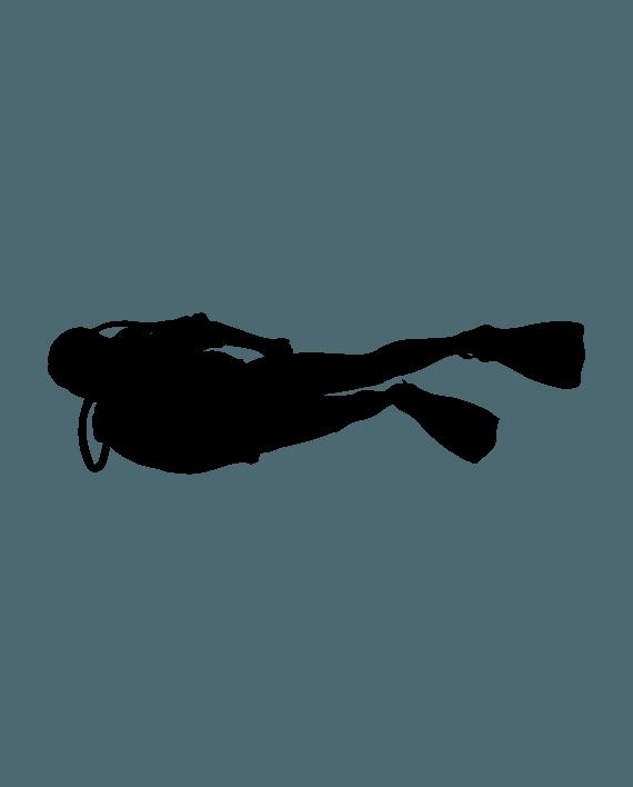 pegatina submarinista buzo submarinismo