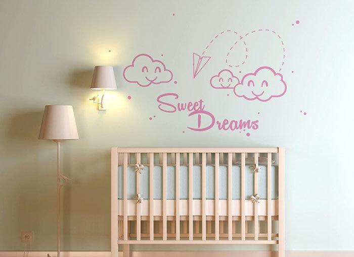 vinilo infantil sweet dreams dulces sueños