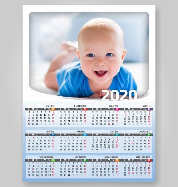 iman nevera calendario toma notas 2020