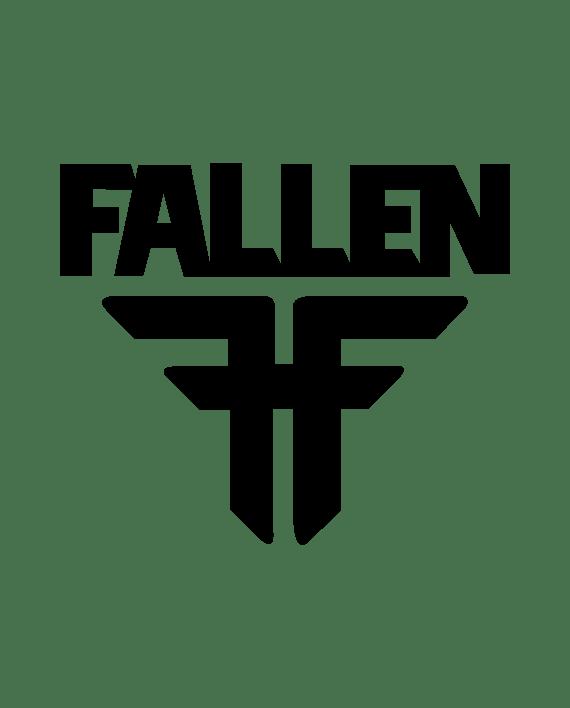 pegatina fallen logo vinilo