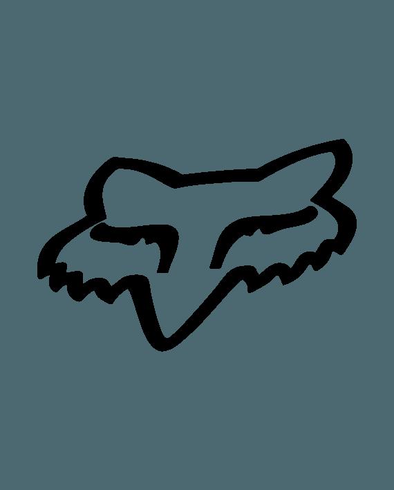 pegatina fox logo vinilo