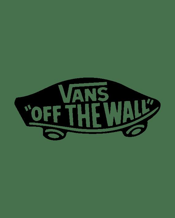 pegatina vans logo skate