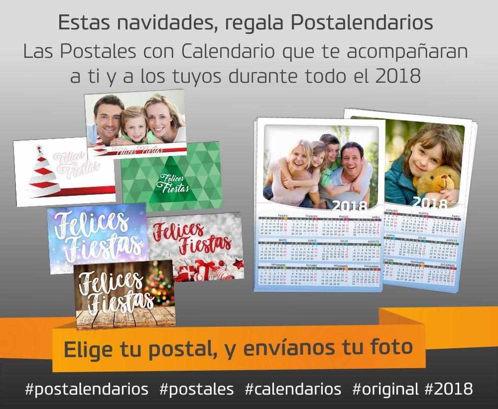 postales calendarios postalendarios 2018