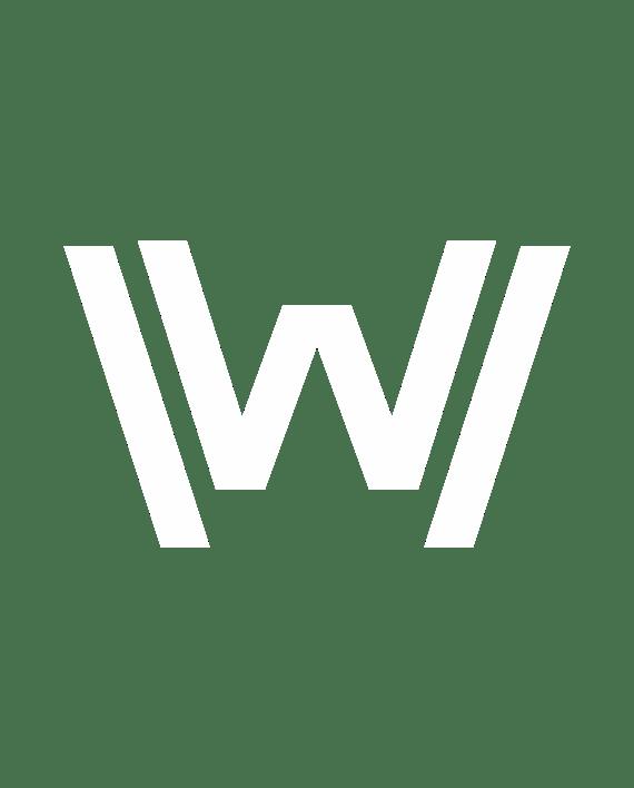pegatina westworld