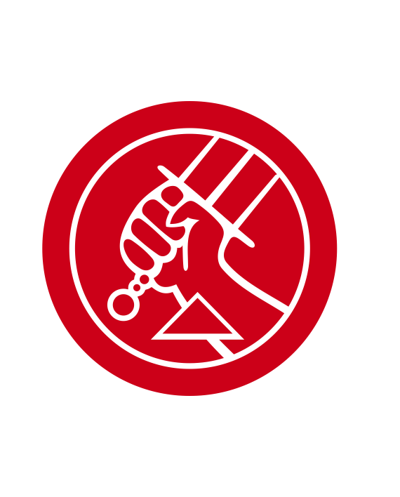 pegatina hellboy BPRD adhesivo vinilo