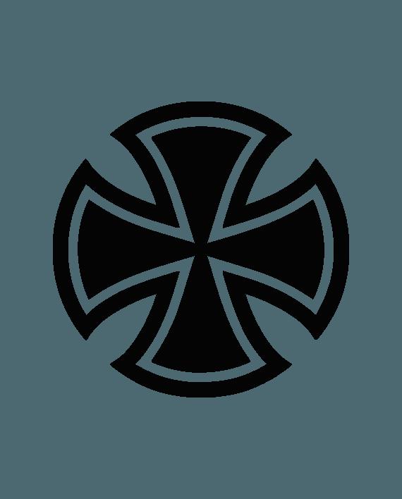 pegatina independent logo