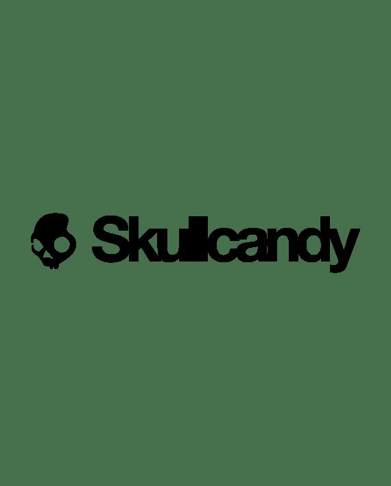 pegatina skullcandy logo letras en vinilo