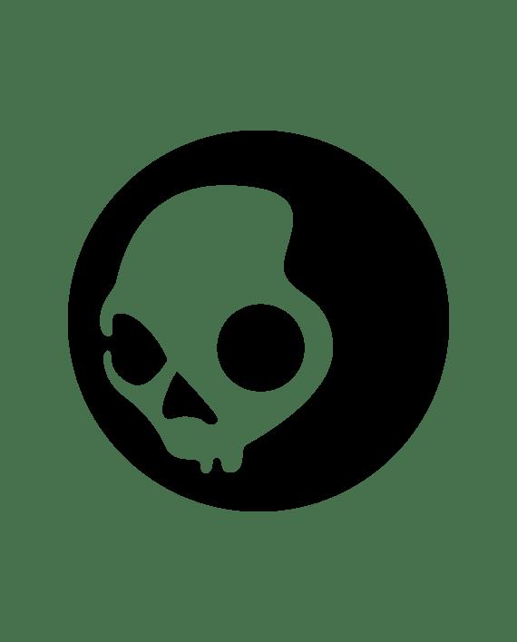 pegatina skullcandy logo en vinilo