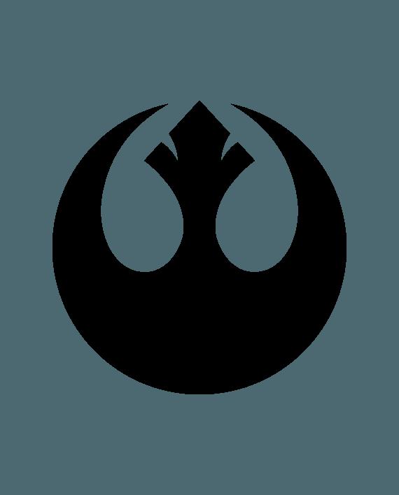 pegatina star wars alianza rebelde