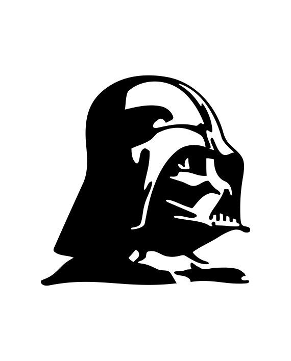 pegatina star wars darth vader