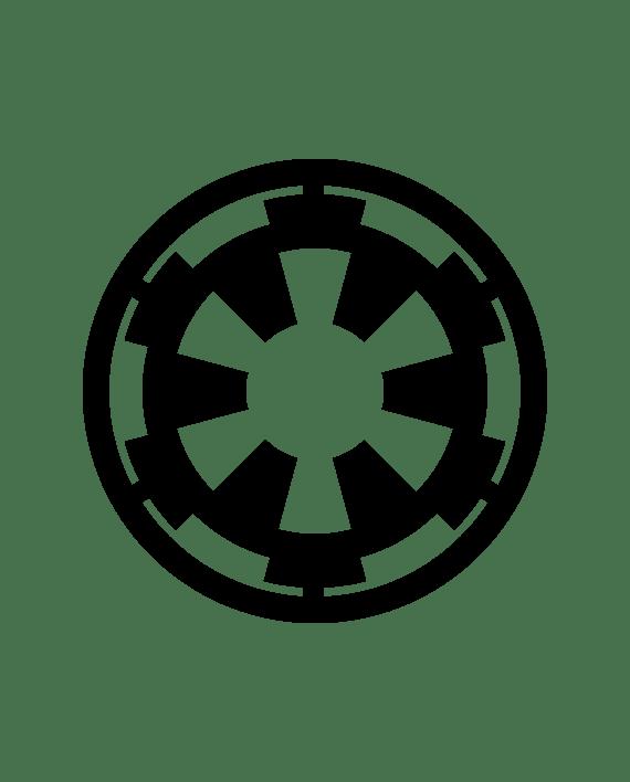 pegatina star wars imperio galactico