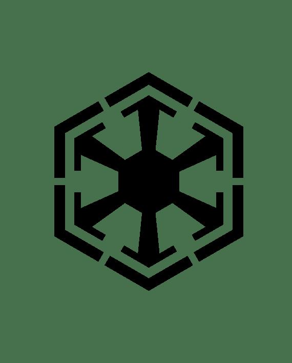 pegatina star wars nuevo imperio sith