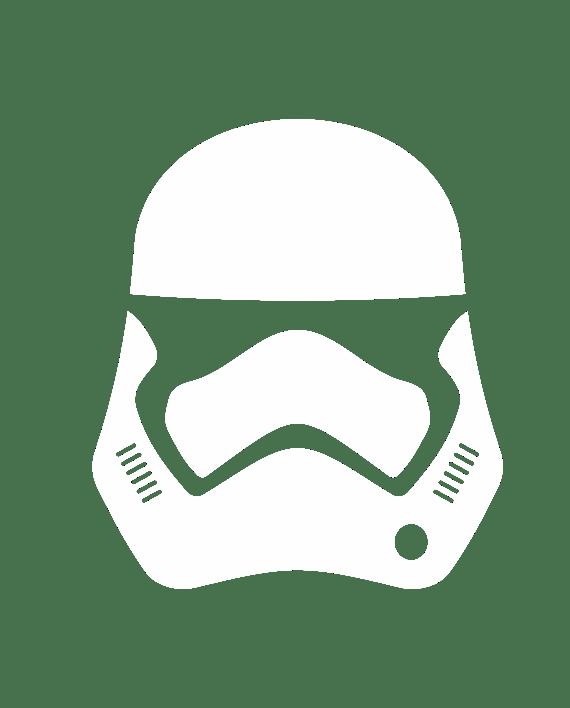 pegatina star wars stormtrooper