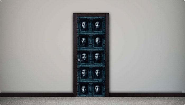 vinilo juego de tronos rostros