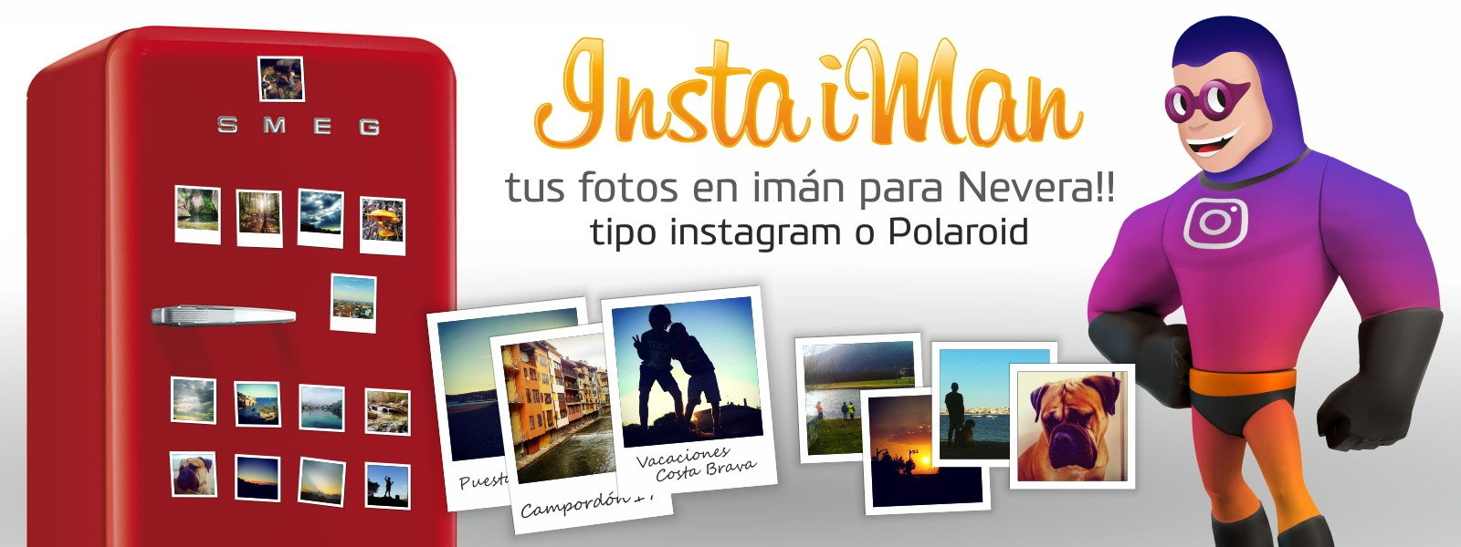 fotos en imán de nevera instagram facebook insta iMan