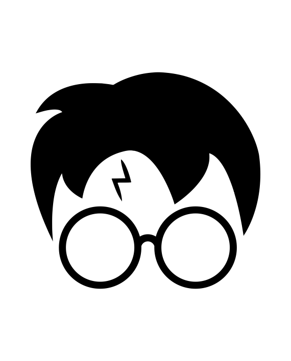 Pegatina Harry Potter Cicatriz Adhesivosnatos