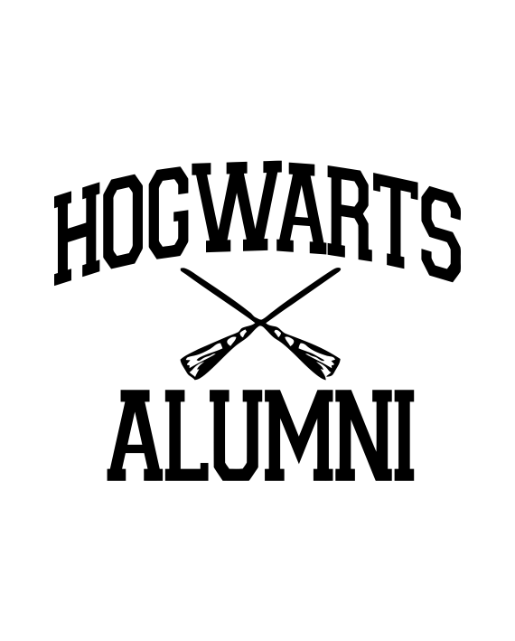 Pegatina hogwarts alumni harry potter adhesivosnatos Vinilos pared harry potter
