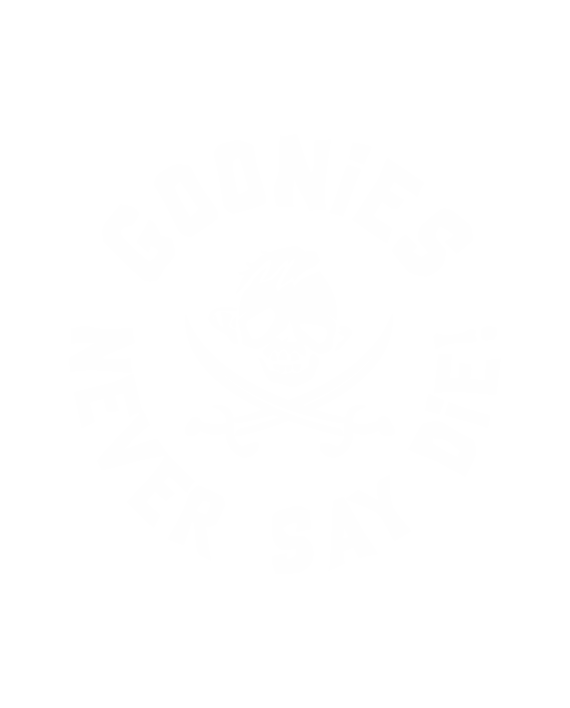 pegatina goonies sloth never say die