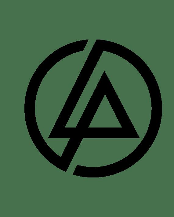 pegatina linkin park logo circulo