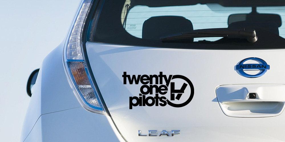 pegatina twenty one pilots