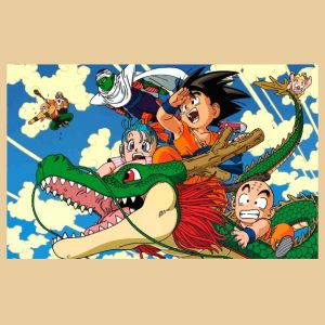 vinilo dragon ball mural decorativo