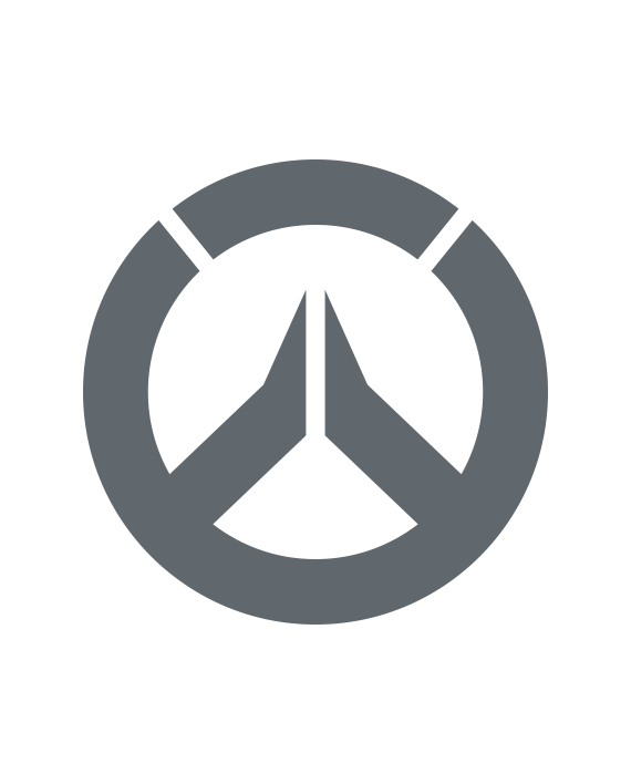 pegatina overwatch logo 1 color a elegir
