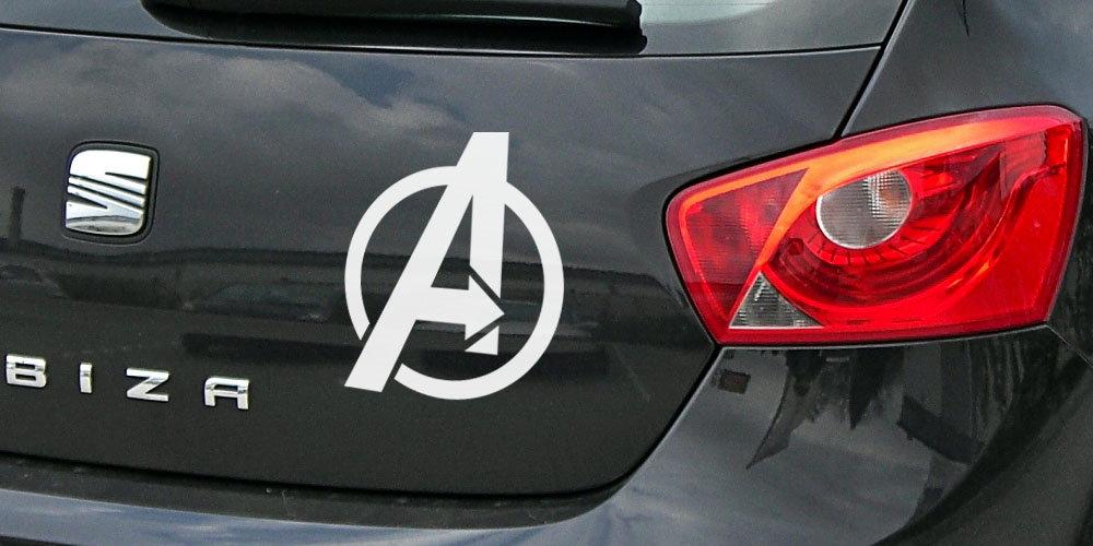 pegatina vengadores logo the avengers