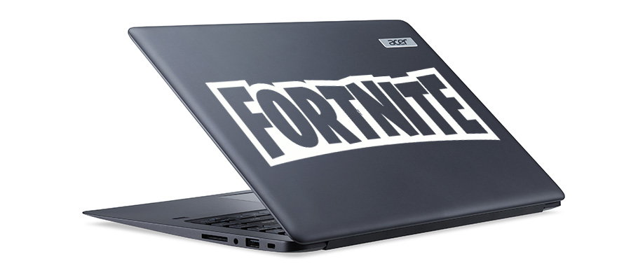 Pegatina fortnite logo silueta letras adhesivosnatos for Vinilos pared fortnite