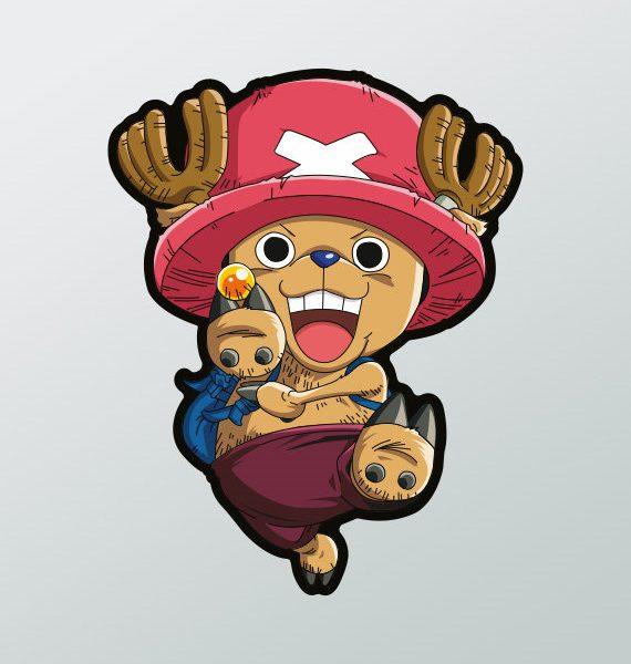 Pegatina Chopper One Piece Adhesivosnatos
