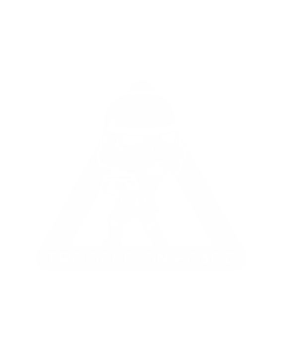 pegatina bebe a bordo stormtrooper star wars personalizado