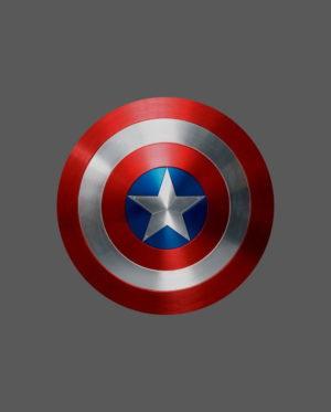 pegatina capitán américa escudo