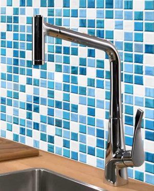 vinilo gresite mosaico azulejos mural pared