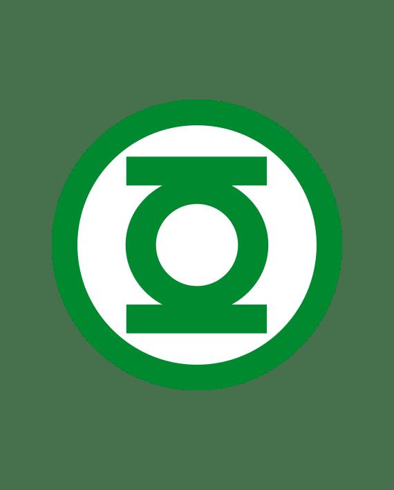 pegatina linterna verde 2 colores vinilo troquelado alta calidad