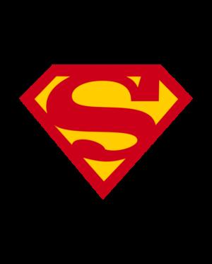 pegatina superman vinilo troquelado