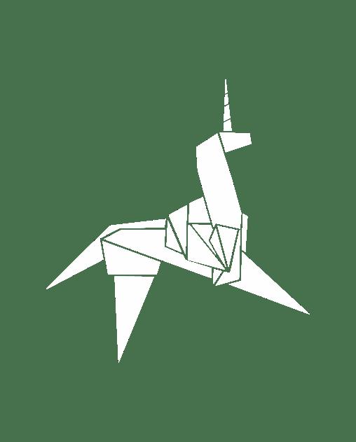 pegatina blade runner unicornio origami vinilo